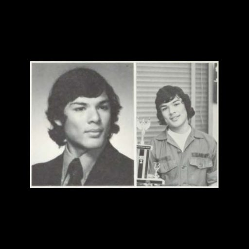 Images of Carlos Salazar from the 1974 Westport High School Yearbook, courtesy of the Kansas City Public Library