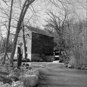 Alley Spring State Park in Shannon County, Mo. Published in the Springfield News & Leader on April 10, 1955.
